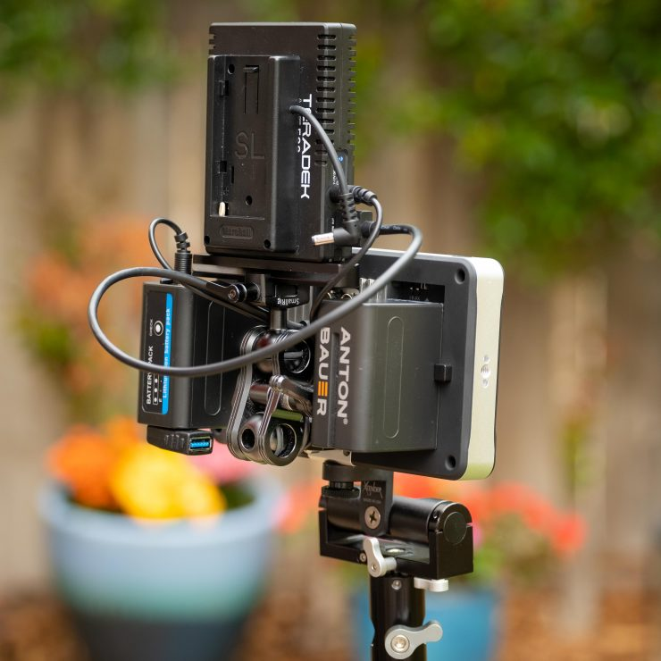 Teradek ACE 500 reciever monitor set up