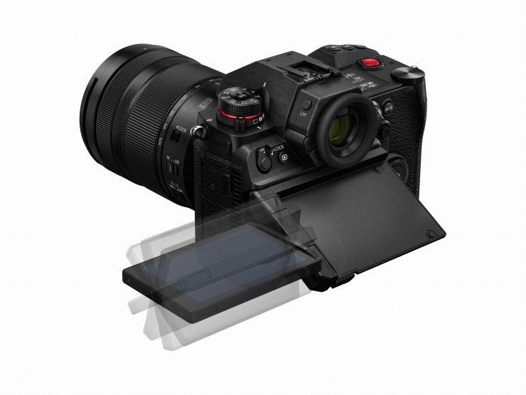 LUMIX S1H S R24105 K backslant K LCD tilting