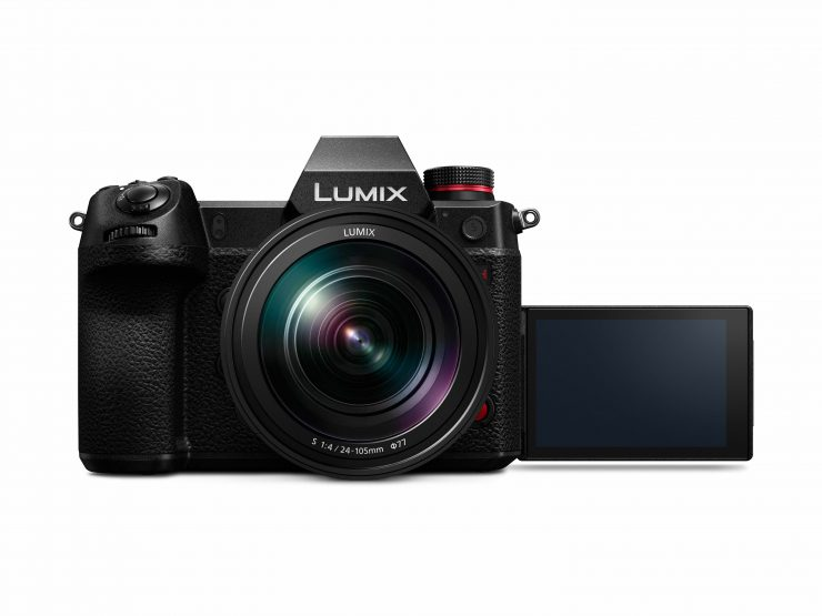 LUMIX S1H S R24105 front K LCD