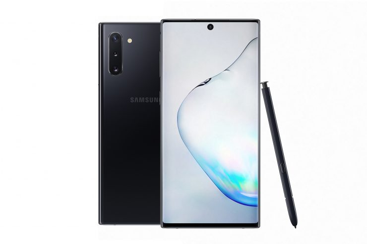Samsung Galaxy Note10+ with live focus video