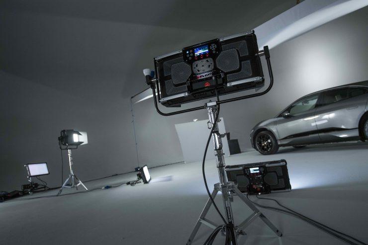 On set with the Rotolight Titan X2 3