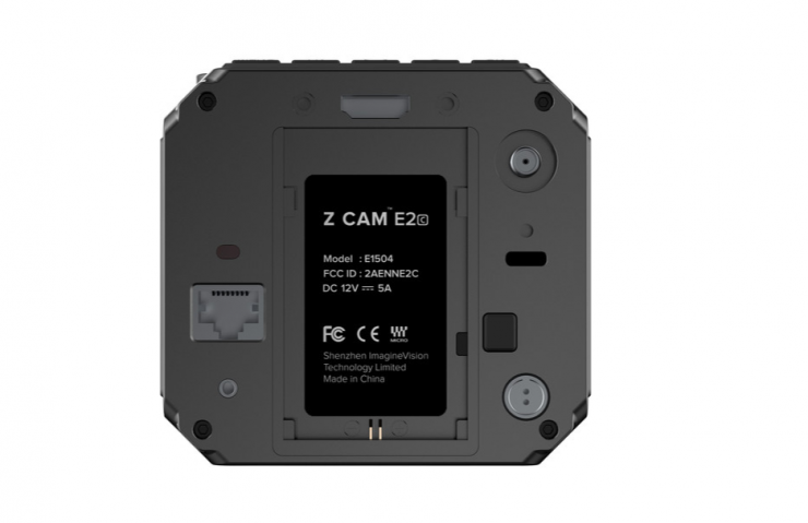 Z CAM E2C - world's smallest interchangeable lens mount 4K 10-bit color cinema camera for $799