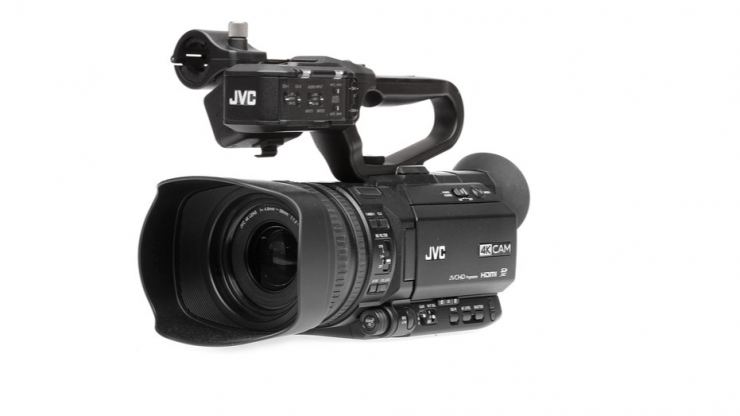 Facebook Live Stream directly from the JVC GY-HM250 4KCAM camcorder