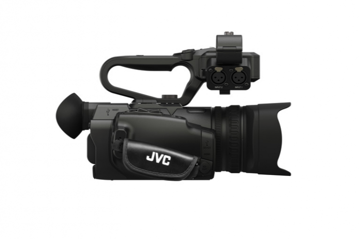 Facebook Live Stream directly from the JVC GY-HM250 4KCAM camcorders