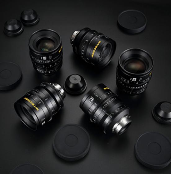NITECORE Superior Prime full frame cine lenses