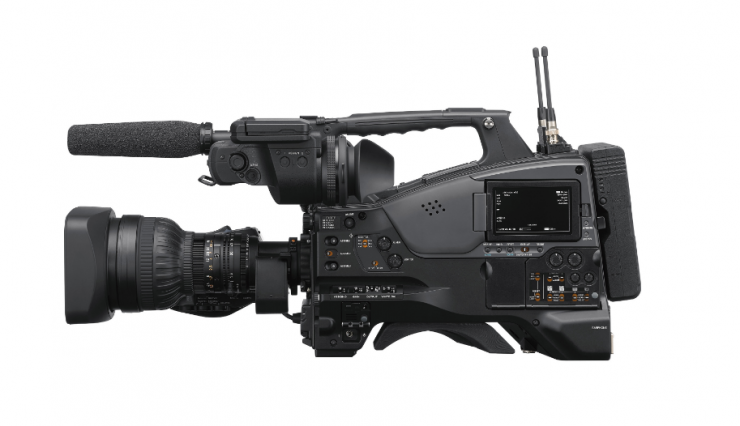 Sony PXW-Z750- 4K  shoulder-mounted camcorder with global shutter