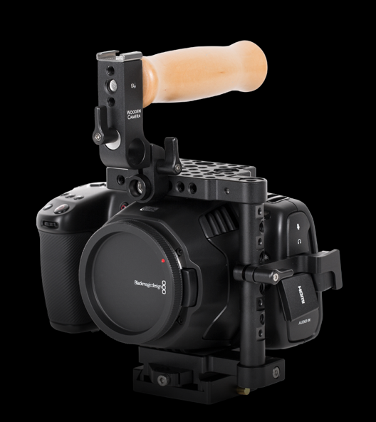 Wooden Camera BMPCC 6K EF to PL Mod & Accessories