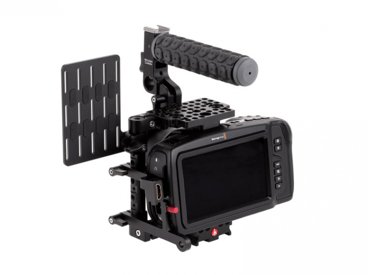 Unified BMPCC4K / BMPCC6K Camera Cage SSD Mount