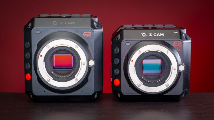 Z Cam E2 and E2C Side by side
