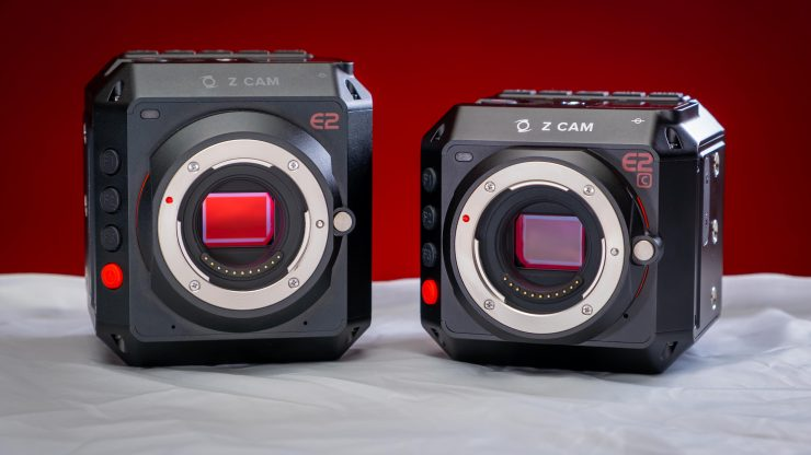 Z Cam E2 and E2C Side by side white