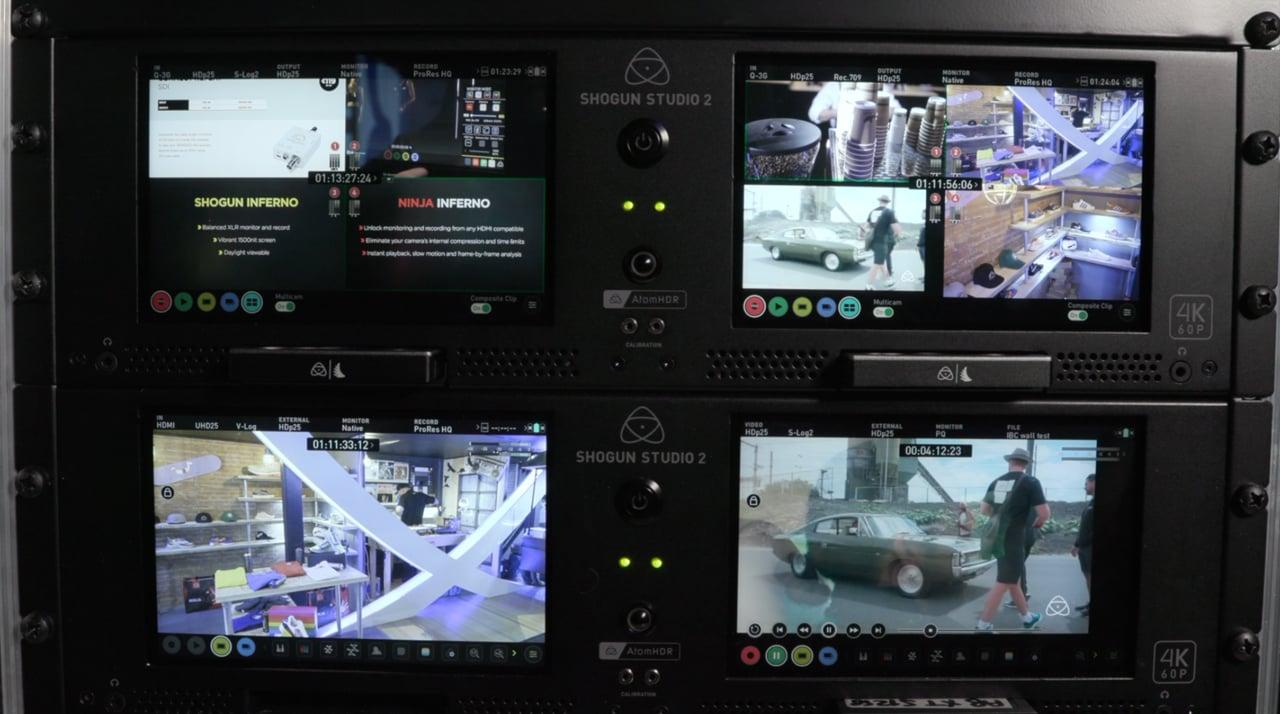 Atomos Shogun Studio 2 rackmount recorder