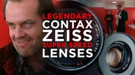 CONTAX ZEISS at SUPER SPEED A Filmmakers guide to vintage budget cine lenses MDEpicEpisodeS1E11