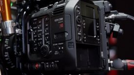 Canon C500 Mark II Newsshooter at IBC 2019