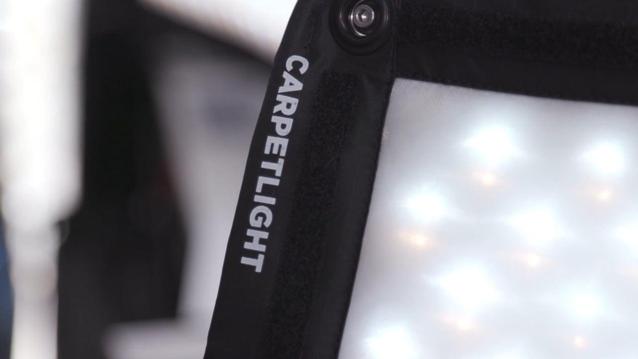 Carpetlight LED fabric-based panels