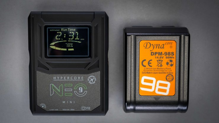 Core SWX Neo 9 Mini comparred to Dynacore 98