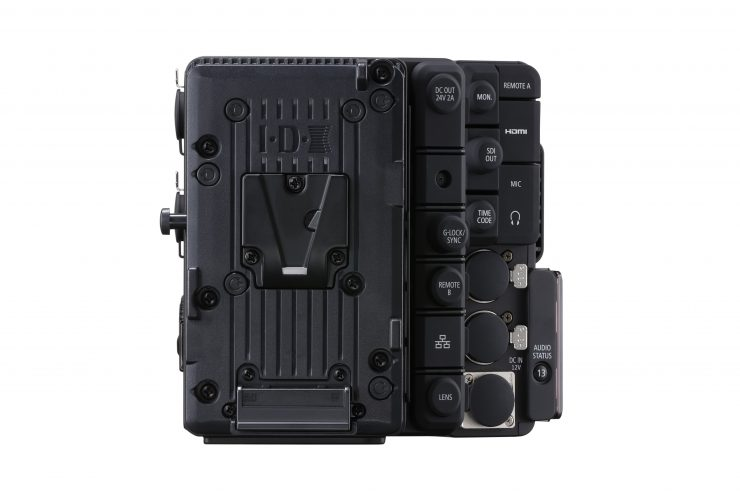 The Canon EU-V2 expansion unit for the Canon EOS C500 Mark II