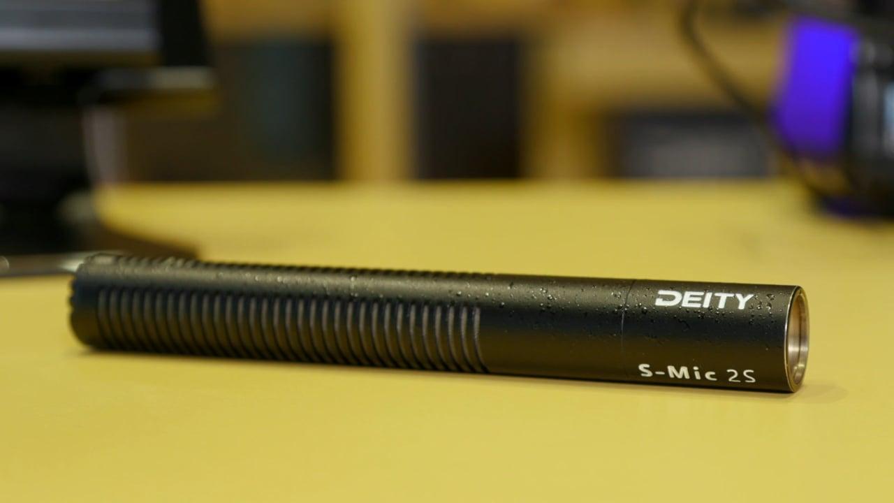 Deity S-Mic 2S short shotgun microphone