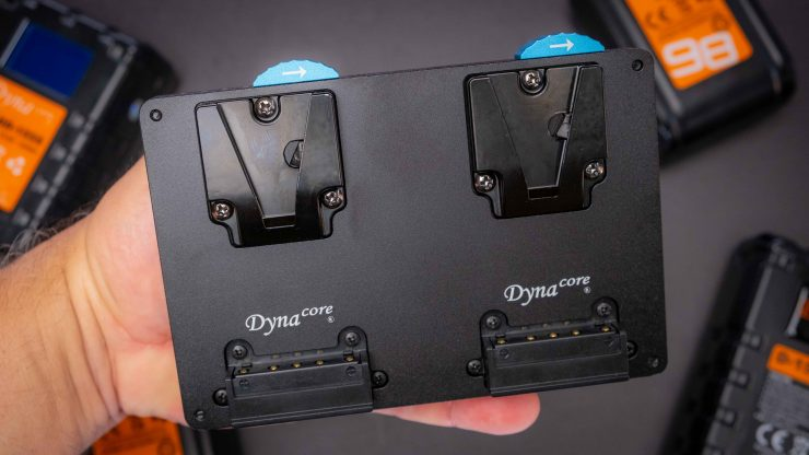 Dynacore DPM 98S Tiny V Mount Plate D TMS A