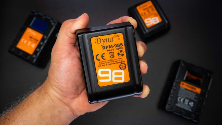 Dynacore DPM-98S Tiny V-Mount Li-ion Battery Review