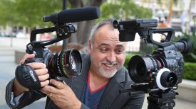Erik with the C100 and C300 MKI