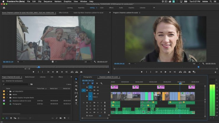 How to use Auto Reframe in Premiere Pro Adobe Creative Cloud