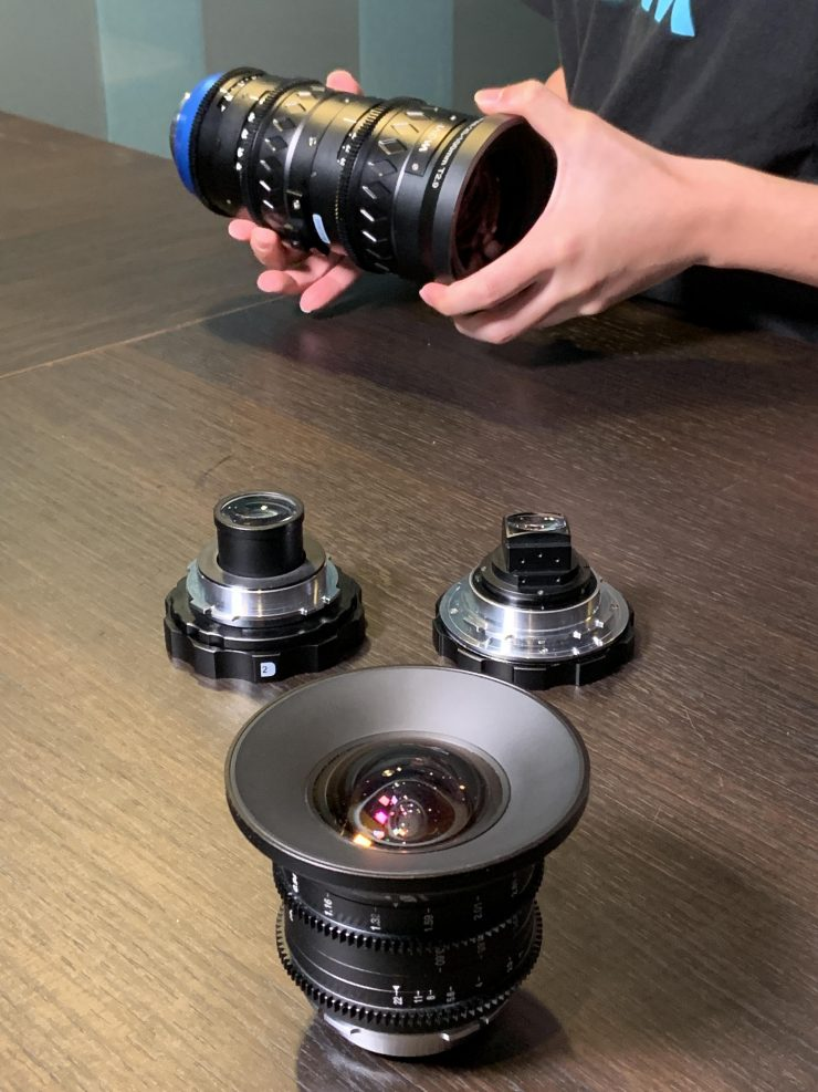 Laowa 1.33x Rear Anamorphic Adapter