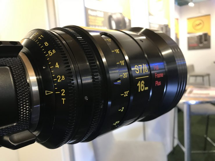 Cooke 16mm T2.0 S7/i Full Frame Plus & Anamorphic/i 135mm Full Frame Plus T2.3