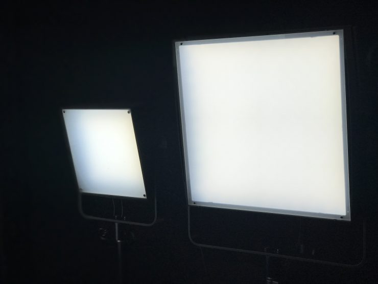 Lupo Actionpanel and on-camera LED lights