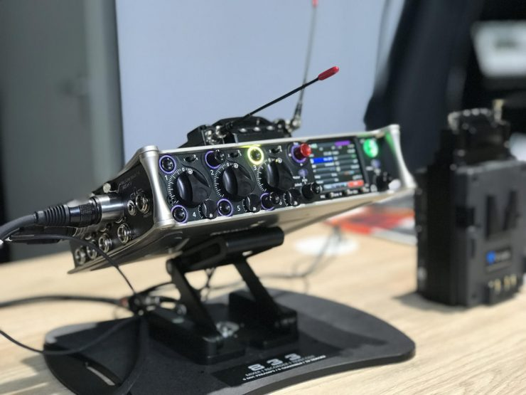 Sound Devices 833 mixer/recorder - Newsshooter