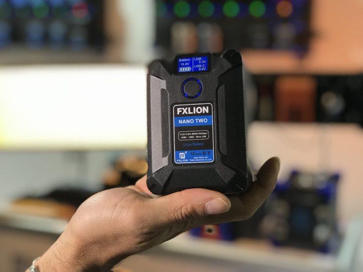 FXLion Nano Two & 300Wh 14.8V 20.4Ah Batteries