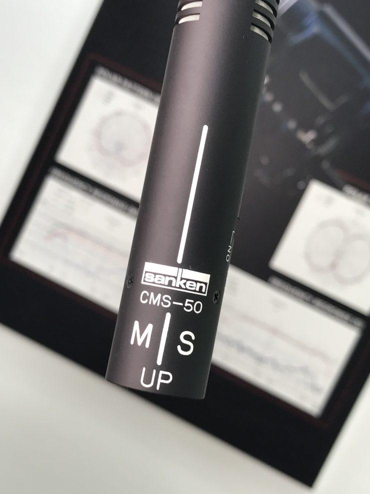 Sanken CMS-50 Stereo Shotgun Microphone