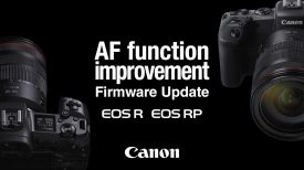 Introducing the firmware update for EOS R EOS RP Auto focus functionality Canon Official