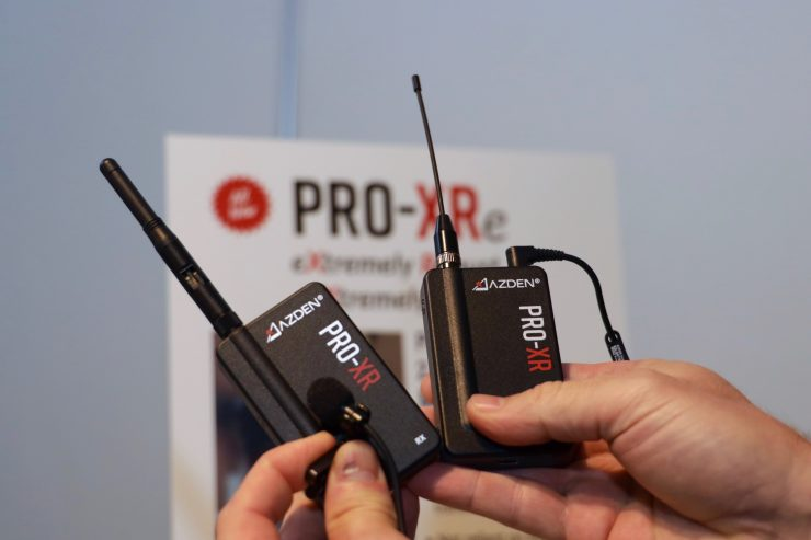 Azden PRO-XR 2.4 GHz Wireless Radio Mic System - $249 USD - Newsshooter