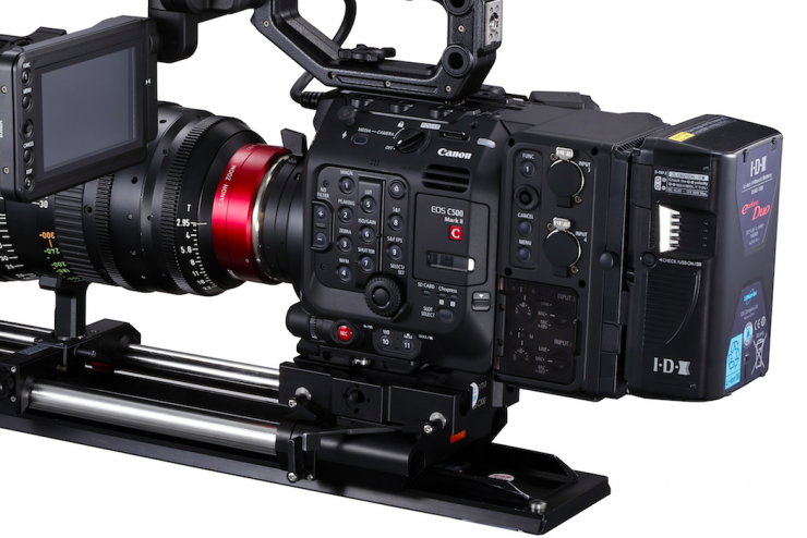Canon announces the full frame C500 Mark II