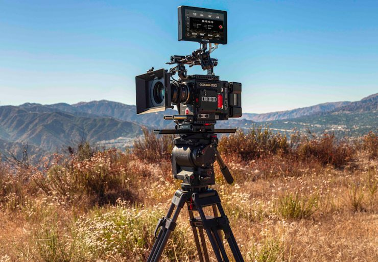 SmallHD Camera Control for RED DSMC2 on Cine 7 Monitors