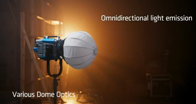 DoPchoice light modifiers for the ARRI Orbiter
