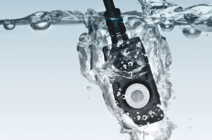 Voice Technologies VT500X Extreme completely waterproof lapel microphone