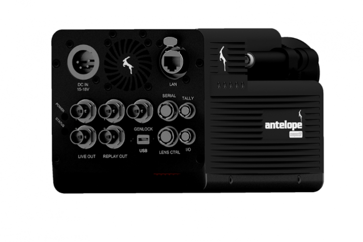 "Antelope's Lightweight 2/3"" highspeed camera"