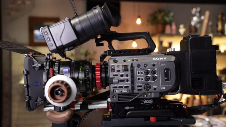 Sony FX9 Newsshooter at IBC 2019