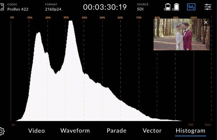 VideoAssist12G scopes