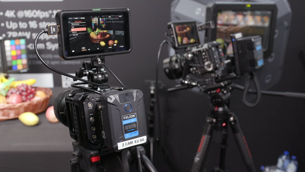 Z-Cam update: interchangeable lens mounts and E-ND filter