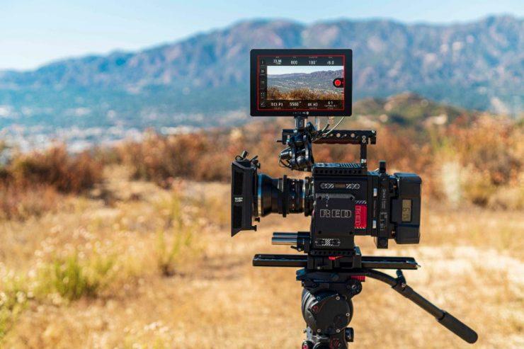 SmallHD Camera Control for RED DSMC2 on Cine 7 Monitors