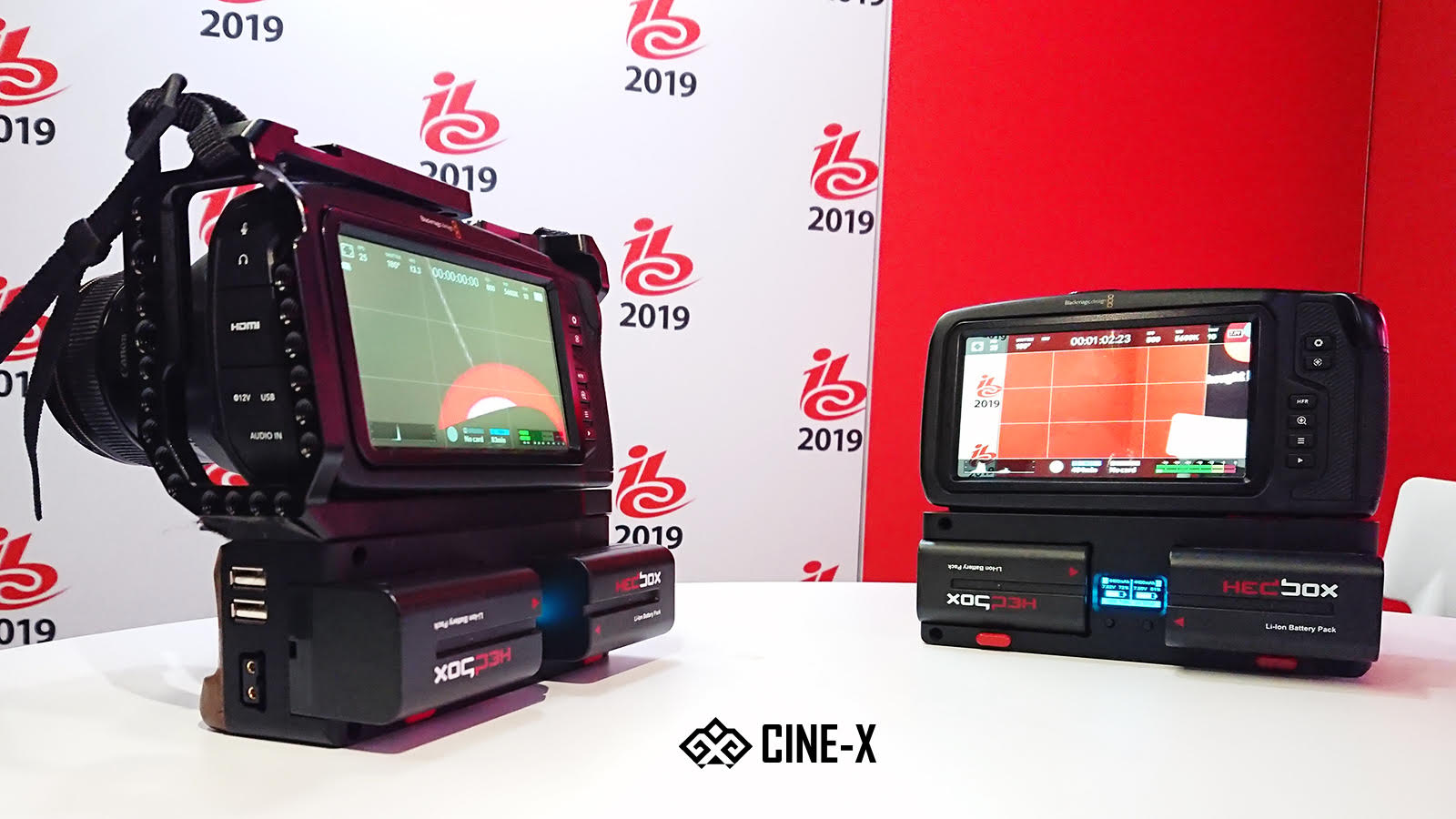 CINE-X Battery grip for the BMPCC 6K & 4K