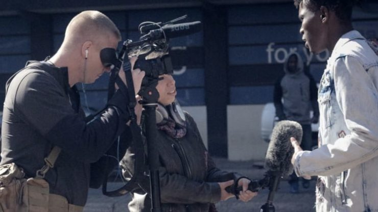 Filming with the Z90 in Joburg
