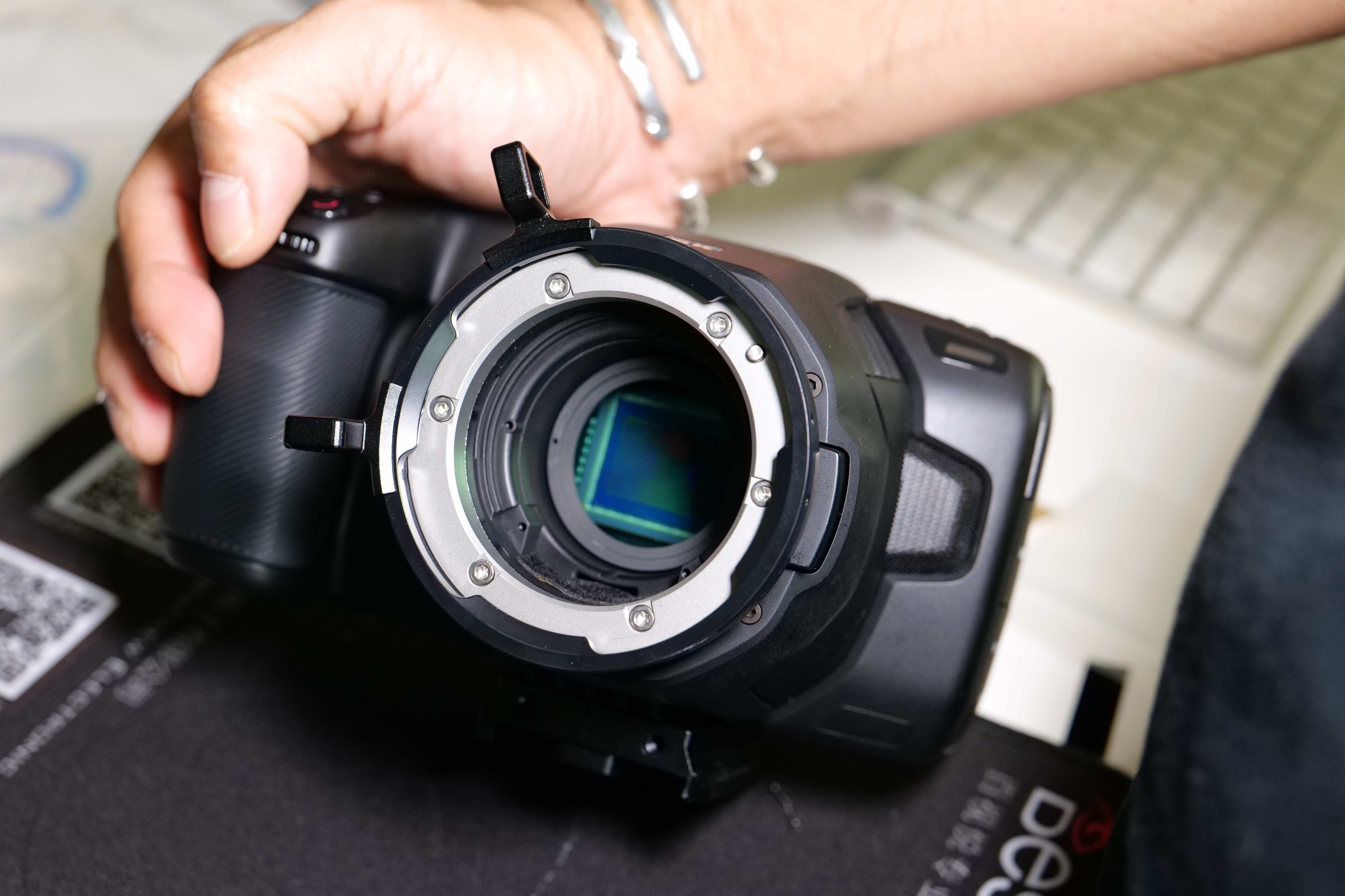 Wooden Camera Bmpcc 6k Pl Mount Modification Kit Review Newsshooter