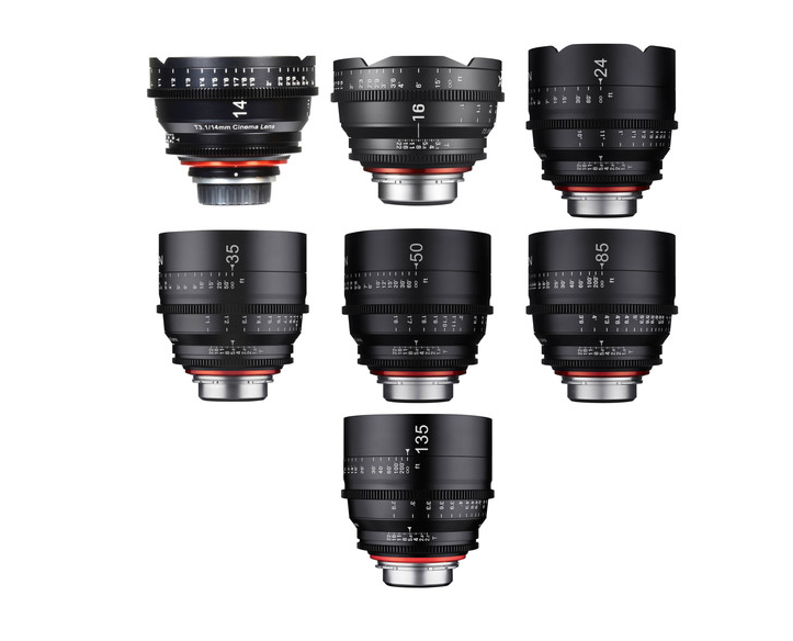 ROKINON XEEN Cine Lenses at massive discounts