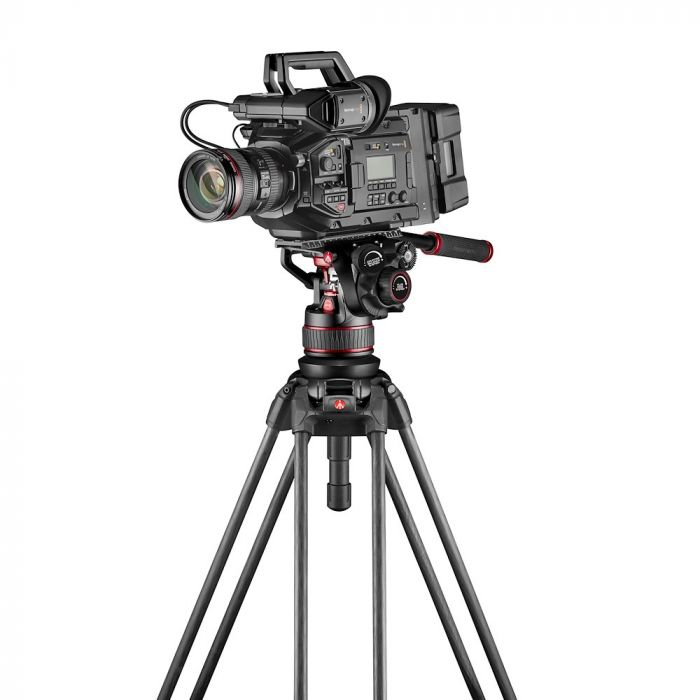 video tripods manfrotto 645 ftt mvttwinfc with nitrotech camera
