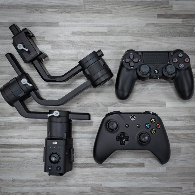 DJI Ronin-S Firmware adds support for PS4 & Xbox control - Newsshooter