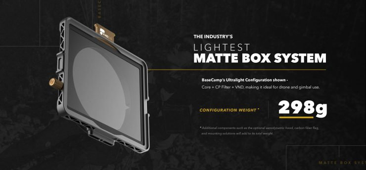 BaseCamp Industrys Lightest Matte Box System