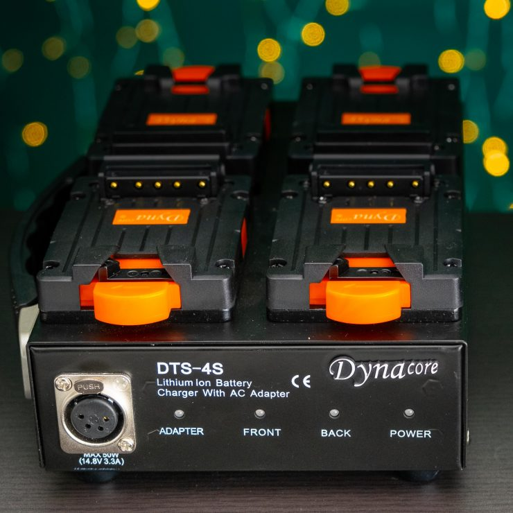 Dynacore DTS 4S front DC out